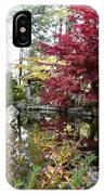 Quiet Autumn Pond IPhone Case