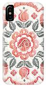Quilted Centerpiece IPhone Case