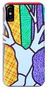 Quilted Winter Tree IPhone Case
