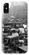 Quincy Market From Faneuil Hall - Boston - C 1906 IPhone Case