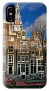 Raamgracht 19. Amsterdam IPhone Case