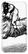 Race Horse, 1900 IPhone Case