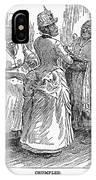 Racial Caricature, 1886 IPhone Case
