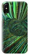 Radiant Digital Floral Fx  IPhone Case