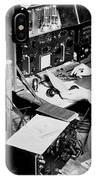Radio Operator Operates His Scr-188 IPhone Case