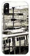 Rail Yard Blues IPhone Case