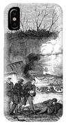 Railroad Accident, 1853 IPhone Case