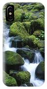 Rain Forest Stream IPhone Case