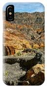 Rainbow Canyon Death Valley IPhone Case