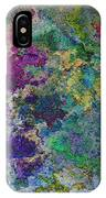 Rainbow Fish Watercolor Abstract Art IPhone Case