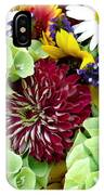Rainbow Floral Display IPhone Case