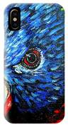Rainbow Lorikeet Look IPhone Case