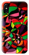 Rainbow Snake 1 IPhone Case