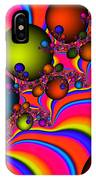 Rainbow Universe IPhone Case