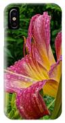 Raindrops On Lilly IPhone Case