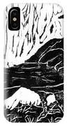 Rainy Day Crow IPhone Case