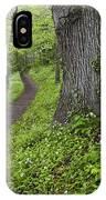 Ramsons By Path In Woods, County Louth IPhone Case