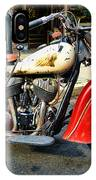 Rare Indian Motorcycle IPhone Case