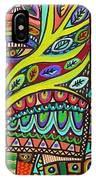 Raven Spirit Tree Totem Goddess IPhone Case