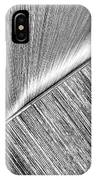 Diagonal. Black And White IPhone Case