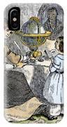 Reading, 1866 IPhone Case