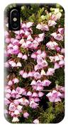 Red And White Mountain Heather IPhone Case
