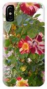 Red And White Roses 3 IPhone Case