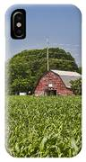 Red Barn - What Charm IPhone Case