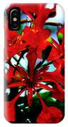 Red Beauty IPhone Case