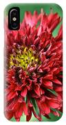 Red Blanket Flower IPhone Case