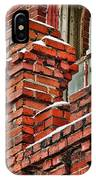 Red Brick Mill IPhone Case