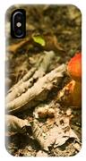 Red Caped Mushroom 1 IPhone Case