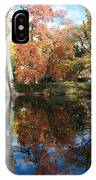 Red Cedar Reflections IPhone Case