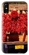 Red Chili Ristra Truck IPhone Case