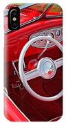 Red Classic Car IPhone Case