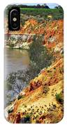 Red Eroded Soil IPhone Case