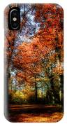 Red Fall IPhone Case