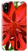 Red Hot IPhone Case