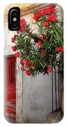 Red In Provence IPhone Case