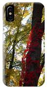 Red Ivy Climb IPhone Case