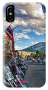 Red  Lodge Motorcycle Rally IPhone Case