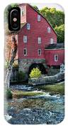 Red Mill On The Water IPhone Case