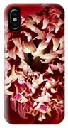 Red Peony Flowers Series 5 IPhone Case