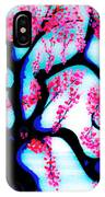 Red Plum Oriental Influence IPhone Case
