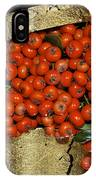 Red Pyracantha Berries IPhone Case