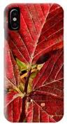 Red Quintete IPhone Case