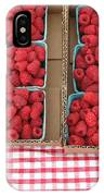 Red Raspberries Are Here IPhone Case