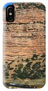 Red Rock Cliffs Along The Hood River IPhone Case