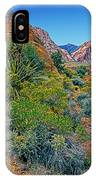 Red Rock Park Spring Flowers IPhone Case