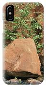Red Rocks, Fall Colors And Creek, Oak IPhone Case